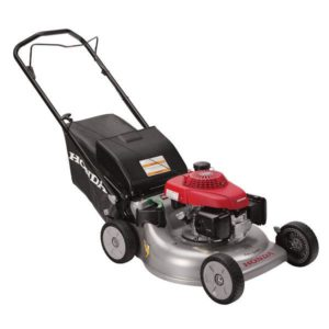 "HONDA DOMESTIC HRR216PKU 21"" CUT STEEL BASE 5.5hp PUSH Mulch Bag or Discharge Functions"