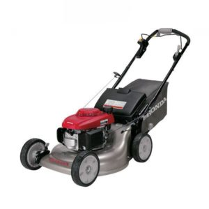 "HONDA DOMESTIC HRR216VYU 21"" CUT STEEL BASE 5.5hp Self Prop Mulch Bag or Discharge Functions Blade Brake"