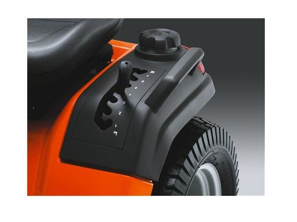 "HUSQVARNA TS138 38"" CUT STEEL DECK 17.5HP SINGLE CYL AUTO TRANSMISSION"