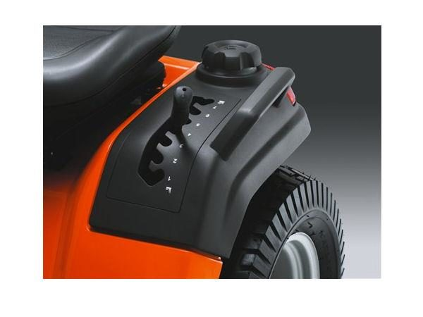 "HUSQVARNA TS242 42"" CUT STEEL DECK V-TWIN ENGINE HYDRO TRANSMISSION"
