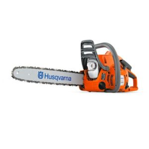 "HUSQVARNA PETROL CHAINSAW 38.2CC 16"" BAR 3/8LP .050 240E"