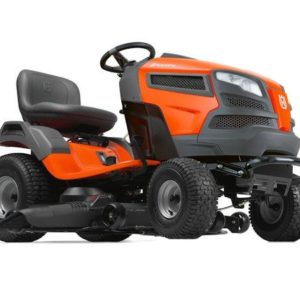 "HUSQVARNA TS246 46"" CUT STEEL DECK V-TWIN ENGINE HYDRO TRANSMISSION"