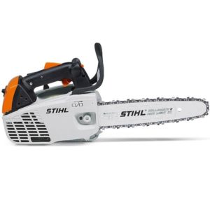 STIHL MS193T Compact 1.3kW arborist chainsaw with 2-MIX technology