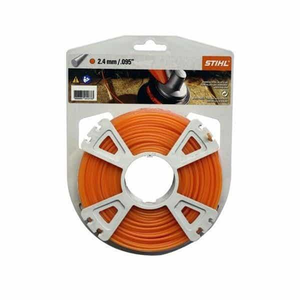 Orange Nylon Line - 2.4mm X 15M