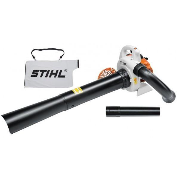 STIHL PETROL VAC SH56 BLOWER 27.2CC 5.2KG 730 m3/H max air throughput