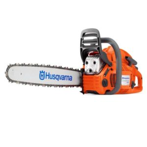 "HUSQVARNA PETROL CHAINSAW 60.3CC 20"" BAR 3/8 .058 460"
