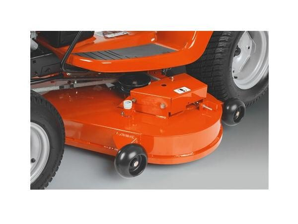 "HUSQVARNA TS348 48"" CUT FAB DECK V-TWIN ENGINE HYDRO TRANSMISSION CRUISE"