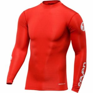SEVEN JSY ZERO 18'19 COMPRESSION RED MED