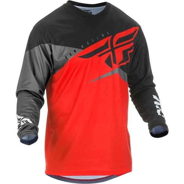 FLY F16 JSY 2019 RED/BLK/GRY XL