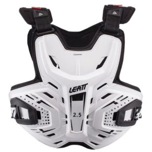 LEATT CHEST PROTECTOR ADULT WHITE