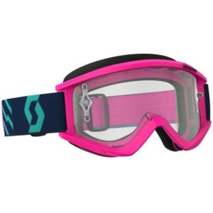 SCOTT GOGGLE RECOIL PINK/TEAL