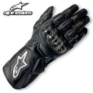 ALPINESTAR SP-2 GLOVE 2014 BLACK EXTRA LARGE