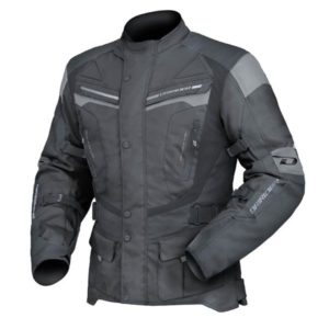DRI RIDER APEX 4 JACKET BLACK/GREY 3 EXTRA LARGE
