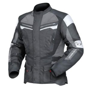 DRI RIDER APEX 4 JACKET BLK/WHT/GRY EXTRA LARGE