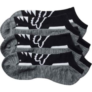 TECH MIDI SOCK 3PK BLK S/M