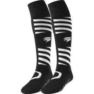 ADULT WHIT3 MUSE SOCK BLK S/M