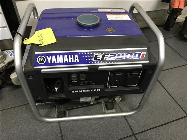 YAMAHA EF2800I BLUE 2009