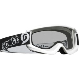 SCOTT AGENT MINI YOUTH GOGGLE WHITE