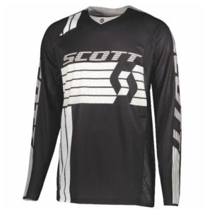 SCOTT 450 Podium Jersey black/white L