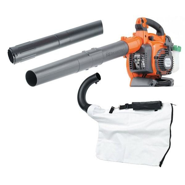 HUSKY 125BVX BLOWER 28CC VAC KIT INCLUDED