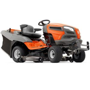 "HUSQVARNA TC342 42"" REAR CUT V-TWIN ENGINE HYDRO TRANSMISSION CRUISE"
