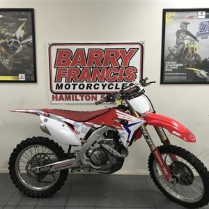 HONDA CRF450R RED 2017
