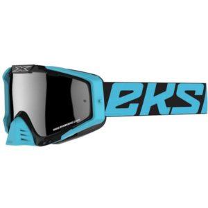 EKS-S GOX Goggles Black/Ice Blue (Silver Mirror Lens)