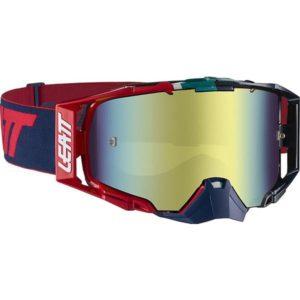 Leatt Velocity 6.5 Ink/Red Iridium Tinted Goggles