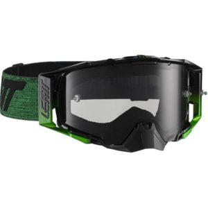Leatt Velocity 6.5 Black/Green Tinted Goggles