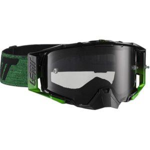 Leatt Velocity 6.5 Black/Green Tinted Goggles