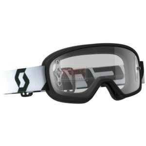 SCOTT BUZZ MX PRO KIDS GOGGLE - black/white/clear