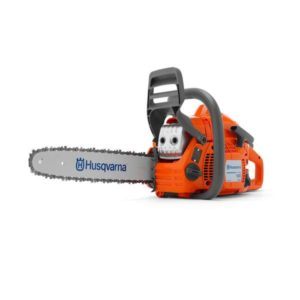 "HUSQVARNA PETROL CHAINSAW 40.9CC 16"" BAR 3/8LP .050 135E"
