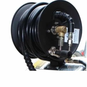 AUSSIE PUMPS HOSE REEL WITH 30M HIGH PREASURE HOSE
