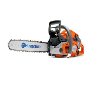 "HUSQVARNA PETROL CHAINSAW 50.1CC 16"" BAR 325 .058 AUTOTUNE 550XP"