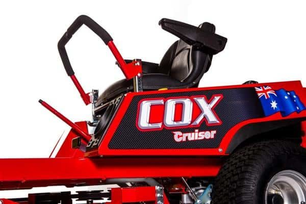 "COX CRUISER 22HP B&S VTWIN 42"" CUT ZERO TURN"