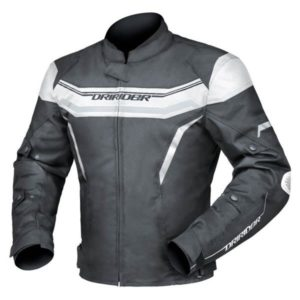 GRID JACKET BLACK WHITE M