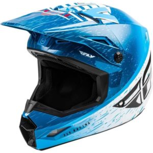 Fly Racing 2020 Kinetic K120 Blue/White/Red Helmet S