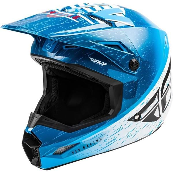 Fly Racing 2020 Kinetic K120 Blue/White/Red Helmet S