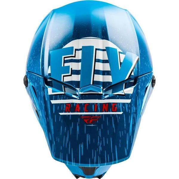 Fly Racing 2020 Kinetic K120 Blue/White/Red Helmet 2XL