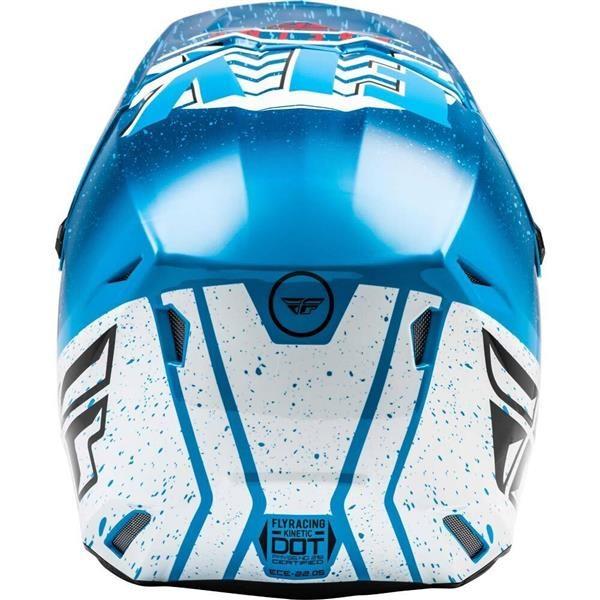 Fly Racing 2020 Kinetic K120 Blue/White/Red Helmet XL