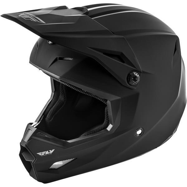 Fly Racing 2020 Kinetic Matte Black Helmet XS