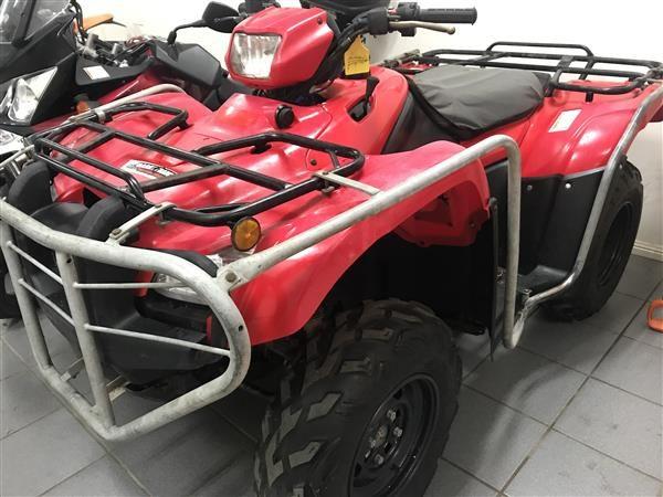 HONDA TRX500FPM RED 2012