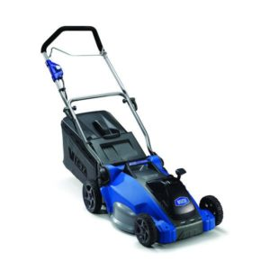 "VICTA CORDLESS 40V BATTERY POWERED 16"" CUT MOWER"