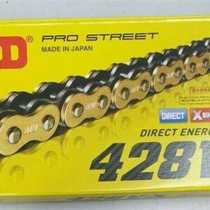 DID 428 XRING 136L Pro Street Drive Chain 428VX-136 FB