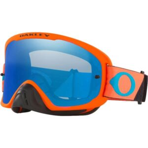 OFRAME 2.0 PRO B1B Orange Gun metal w Black Ice Iridium HI Impact Lens