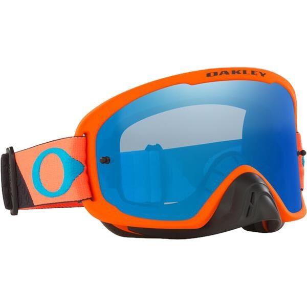 OFRAME 2.0 PRO B1B Orange Gun metal w Black Ice Iridium HI Impact Lens
