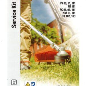 STIHL Service Kit (FS 91, FS 111, HT 103)