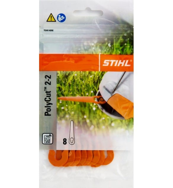 STIHL REPLACEMENT BLADES 8 PACK FOR FSA45 BATTERY GRASS TRIMMER